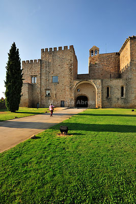 Monastery and Pousada of Flor da Rosa. Crato, Alentejo. Portugal (MR)
