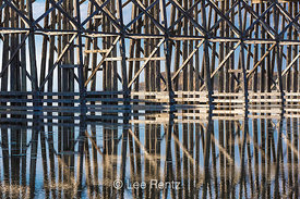 Pudding Creek Trestle in MacKerricher State Park Near Fort Bragg, CA