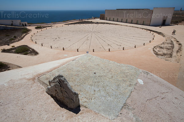 "Cape Sagres was also the location of the legendary Nautical School of Sagres. The legend is that there wasn't actually a ""school"" there since resources in that area were too scarce to launch a sailing journey from this rocky coast."