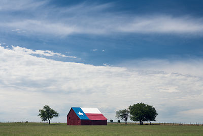 Texas Flag Barn #2