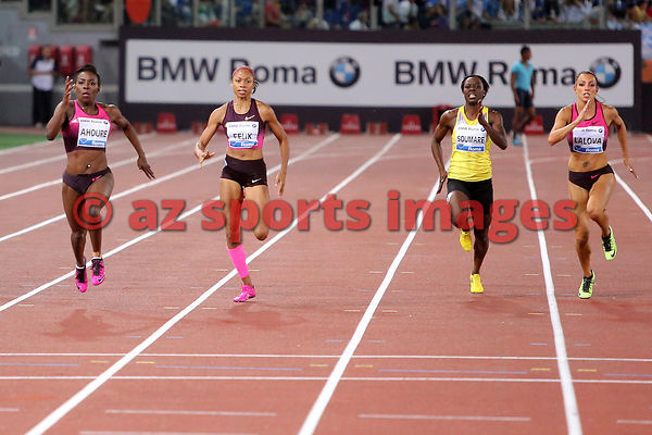 ROME, ITALY - JUNE 06:  at the IAAF Golden Gala at Stadio Olimpico. Photos Angelos Zymaras / az sports images
