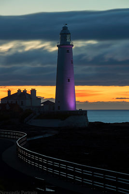 First Light at St. Mary's Lighthouse