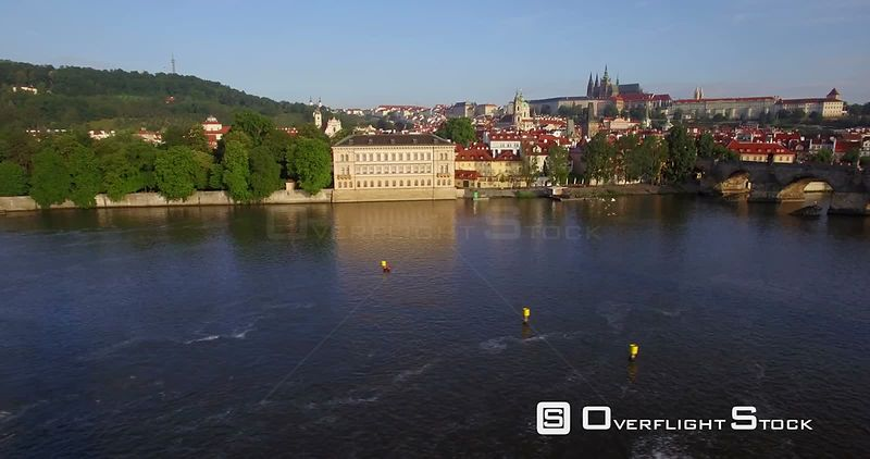 Vltava River Prague Czech Republic