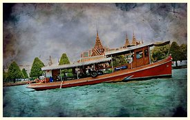 Bangkok_river_Tour_old_postcard
