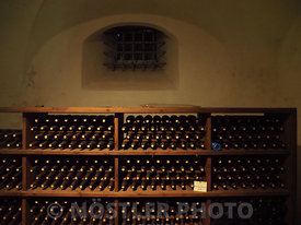 Wine from 1615 in the Wine Cellar