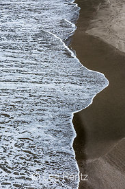 Pacific Ocean Waves in Sonoma Coast State Beach, California