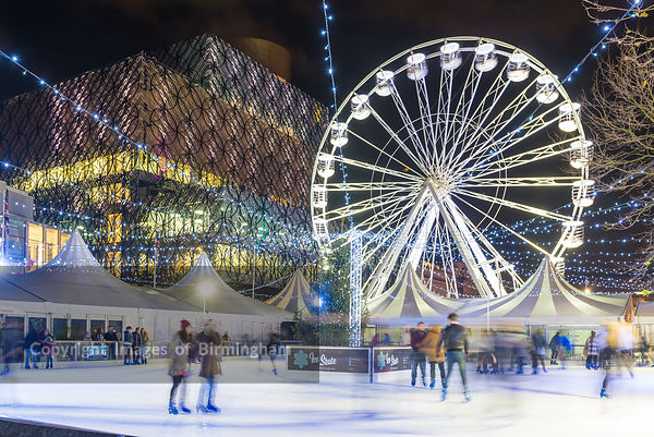 Christmas in Birmingham photos