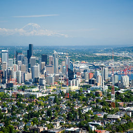 Seattle, Washington: A Real Gem aerial photos