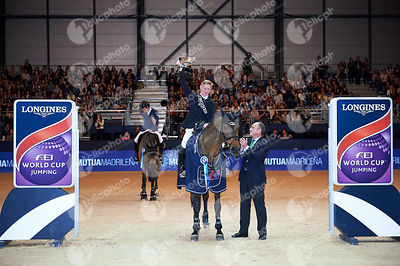 Prize Giving ceremony of CSI5-W Longines FEI Word Cup Longines - Trofeo Mutua Madrileña