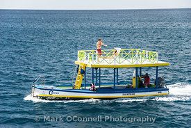 Fun boat Barbados