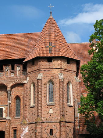 Grand Master's of the Teutonic Order Palace Chapel, Malbork Castle, Poland