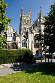 St Peters Cathedral Church, Gloucester, Gloucestershire, England.