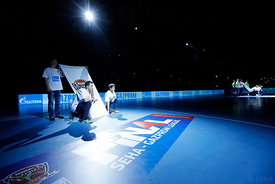 Ceremony during the Final Tournament - Final Four - SEHA - Gazprom league, Telekom Veszprém - Meshkov Brest in Brest, Belarus, 07.04.2017, Mandatory Credit ©SEHA/ Stanko Gruden