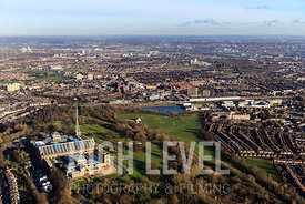 Aerial Photography Taken In and Around Haringey-Alexandra Palace