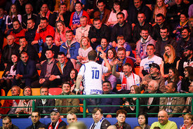 Fans during the Final Tournament - Final Four - SEHA - Gazprom league, Bronze Medal Match Meshkov Brest - PPD Zagreb, Belarus, 09.04.2017, Mandatory Credit ©SEHA/ Jozo Čabraja..
