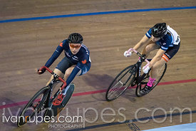 Cat 1 Women Points Race, 2017/2018 Track Ontario Cup #2, Mattamy National Cycling Centre, Milton On, January 14, 2018