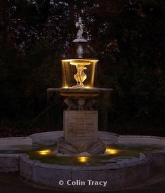 The Fountain, Borough Gardens, Dorchester, Dorset, UK