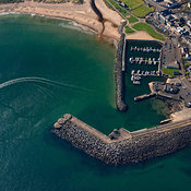 Ballycastle aerial photos
