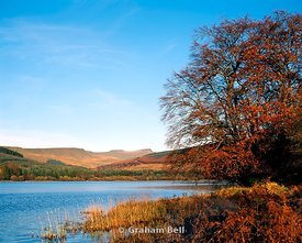 pentwyn reservoir beacons national park powys wales