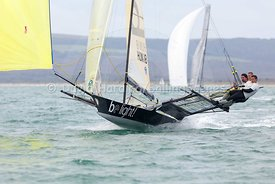 Be Light, HUN 18, 18ft Skiff, Euro Grand Prix Sandbanks 2016, 20160904095