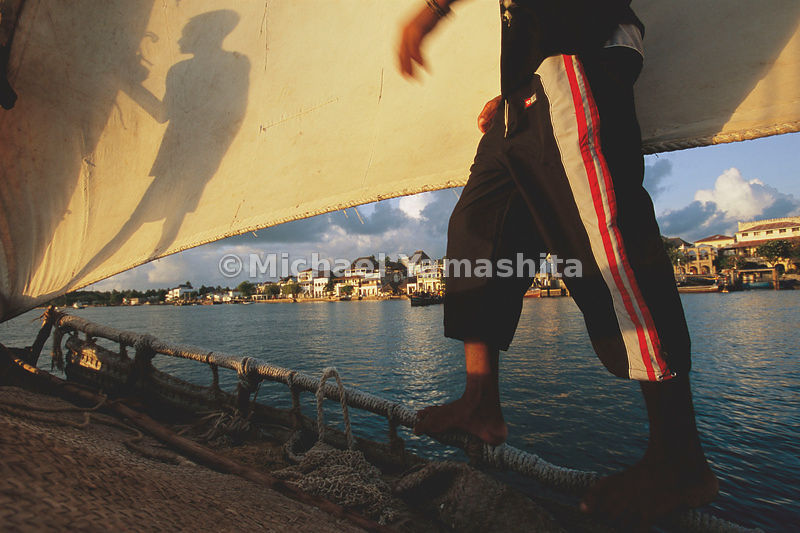 Sailing along Swahili
