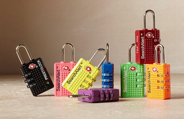 multi colored tsa combination locks