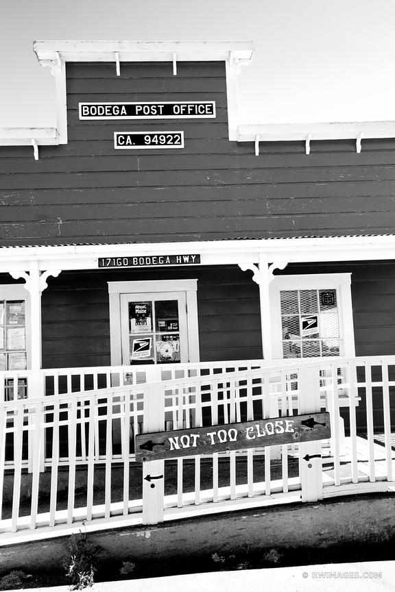 BODEGA POST OFFICE BODEGA CALIFORNIA BLACK AND WHITE