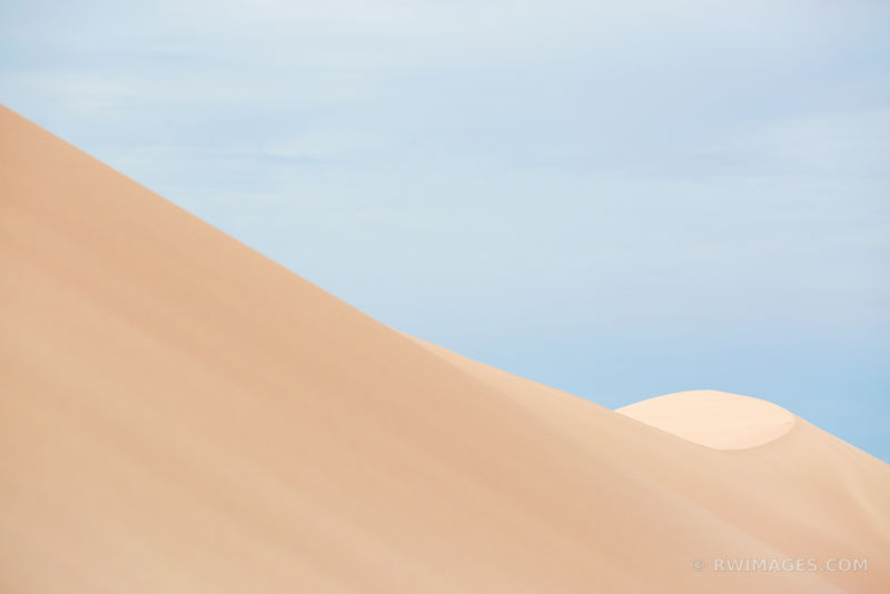NATURE ABSTRACT GREAT SAND DUNES NATIONAL PARK COLORADO COLOR HORIZONTAL
