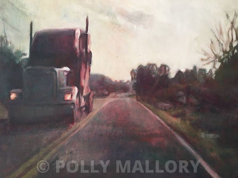 Sam_Morrow._Wallace_Pike_original_oil_Retail_1100_Sale_price_770