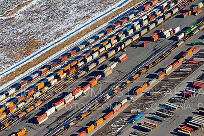 CPR Shepard Intermodal Yard