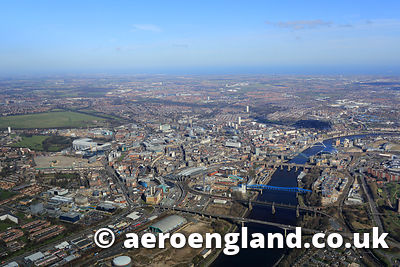 Newcastle upon Tyne aerial photo of Londons