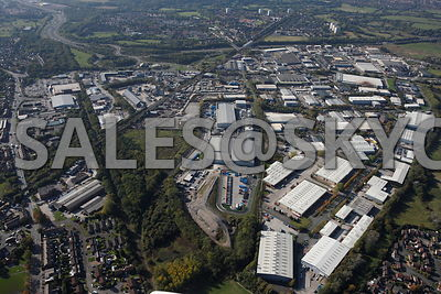 Stockport Aerial photographs