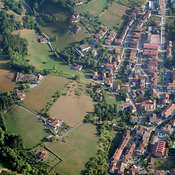 Idiazabal aerial photos