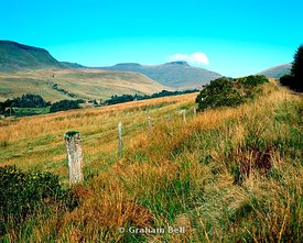 the brecon beacons from blaen taf fechan brecon beacons national park wales