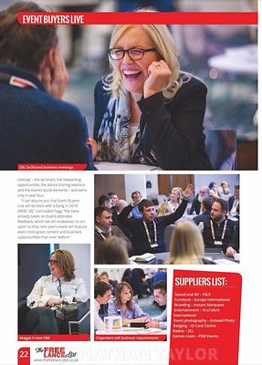 Stand Out magazine - Event Buyers Live 2017 - page 22 - March 2017