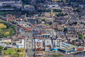 Aerial Photography Taken In and Around Gloucester, UK