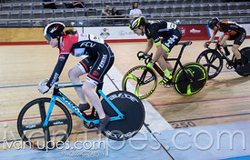 Women Keirin Round 1. 2016/2017 Track O-Cup #1, Mattamy National Cycling Centre, Milton, On, December 4, 2016
