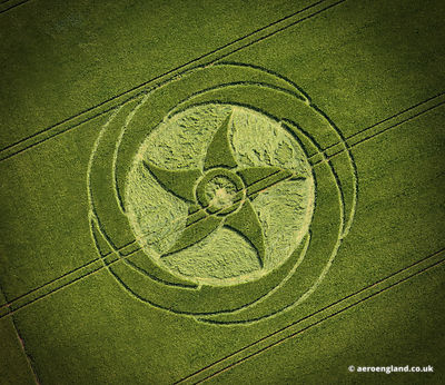 Crop Circle in Wiltshire