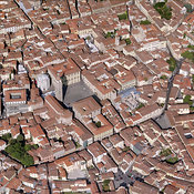 Pistoia aerial photos