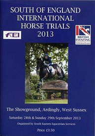 South_of_England_Horse_Trials_programme