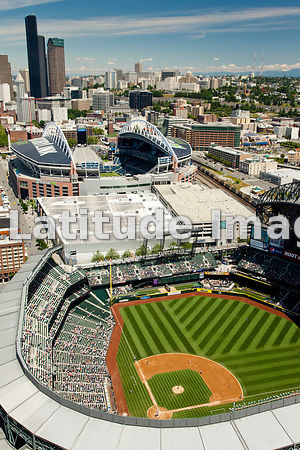 Safeco Field, Home Of Major League Baseball's Seattle Mariners, Seattle