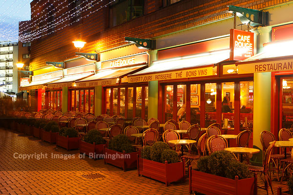 Cafe rouge in Brindleyplace, Birmingham