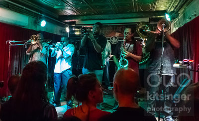 Rebirth Brass Band at the Maple Leaf