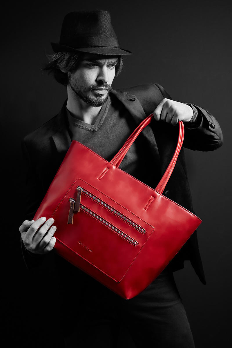 Commercial Fashion Photographer Men Handbags London