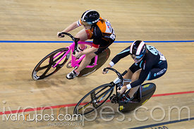 Women's Sprint 1/2 Final. 2015 Canadian Track Championships, October 8, 2015