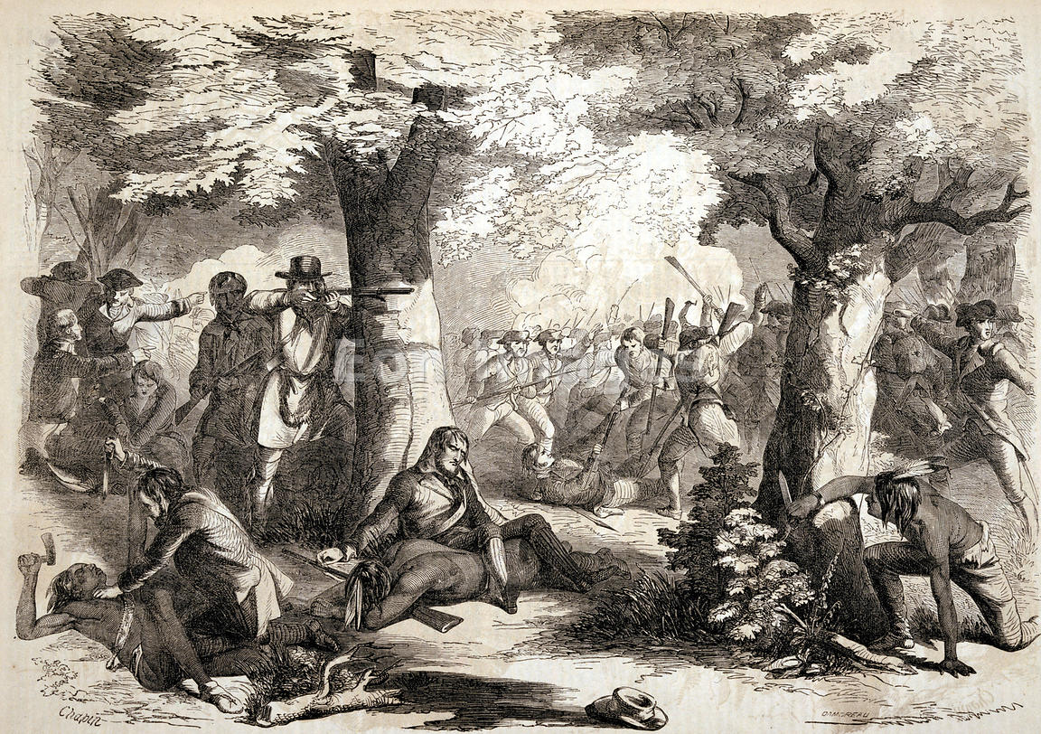 Battle of Oriskany during American Revolution