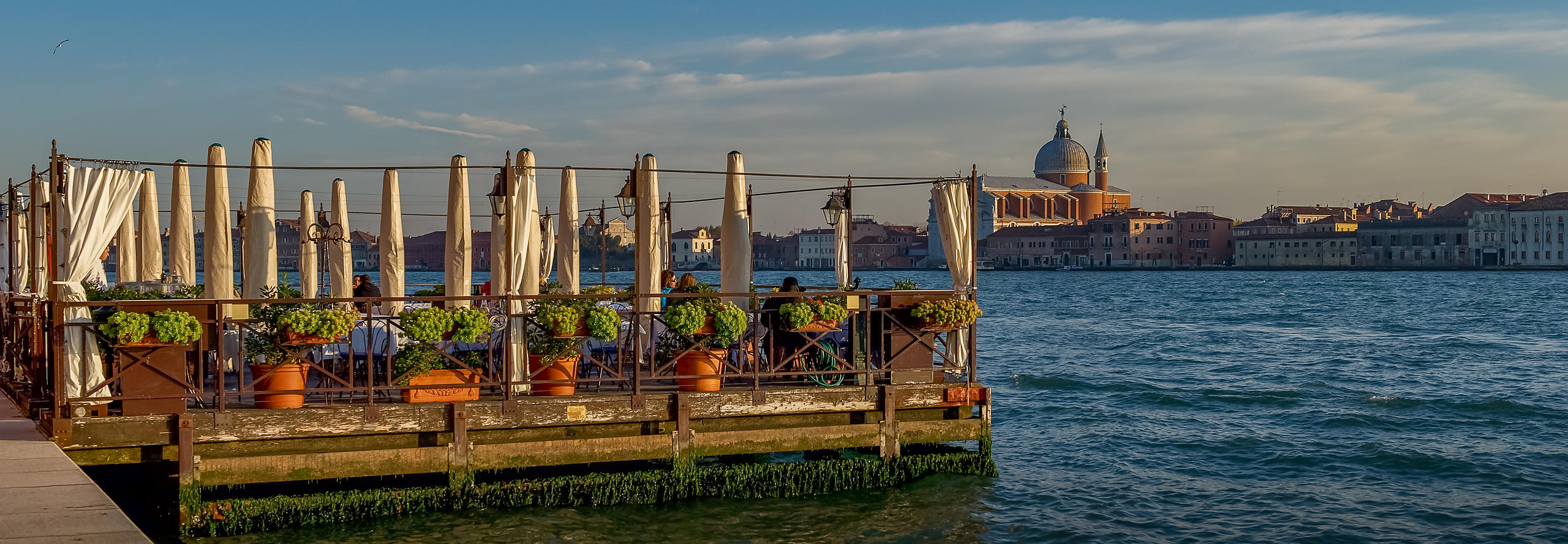 Restaurant on the Grand Canal, Venice
