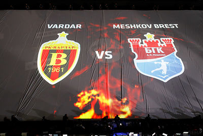 Semi Final Match - Vardar vs Meshkov Brest photos
