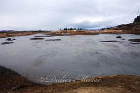 Lac Parc national de Thingvellir Islande 05/16