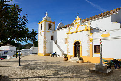 Motherchurch of Alvor, dating back to the 16th century. Portimão, Algarve. Portugal
